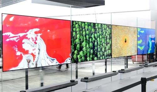 LG W7 OLED TV.