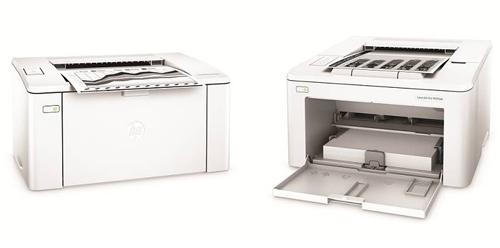 Dòng máy in HP LaserJet Pro M102 và HP LaserJet Pro M203.
