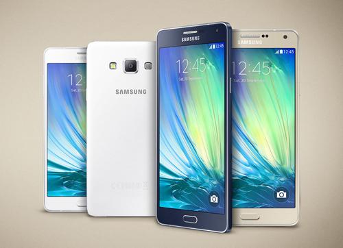 Galaxy A 2015 là dòng sản phẩm đầu tiên của Samsung sở hữu thiết kế nguyên khối và vật liệu kim loại hoàn toàn mới.