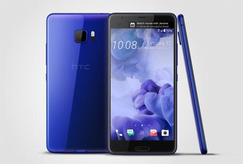 HTC U Ultra có thiết kế phản chiếu ánh sáng, tích hợp trí tuệ nhân tạo với nhiều màu sắc.