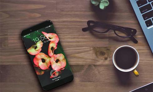 Hình dung về iPhone X với màn hình OLED cong