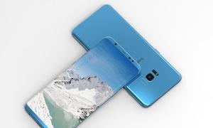 Galaxy S8 hoa mỹ với màn hình cong không viền