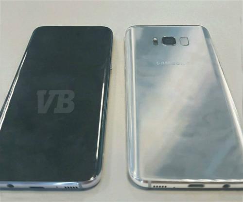 Hình ảnh về hai phiên bản thử nghiệm của Galaxy S8 được trang Venture Beat cung cấp mới đây.