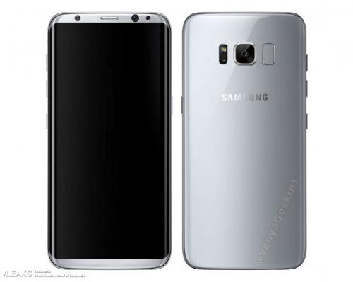 Với viền siêu mỏng, nhiều khả năng Galaxy S8 phải dùng thiết kế cảm biến vân tay đặt ở lưng thay vì mặt trước như thông thường.