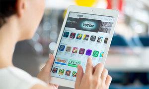 Doanh thu Apple App Store gấp đôi Google Play Store