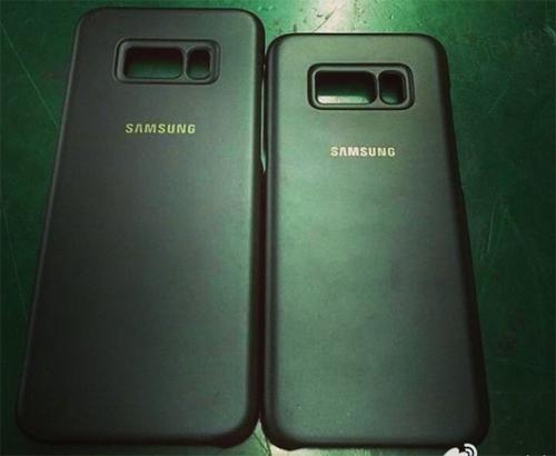 Vỏ case tiết lộ vị trí mới của cảm biến vân tay trên Galaxy S8