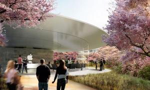 Nhân viên Apple làm việc tại trụ sở phi thuyền từ tháng tư