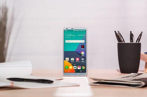LG G6 trình làng với màn hình sát viền, tỷ lệ 19:8