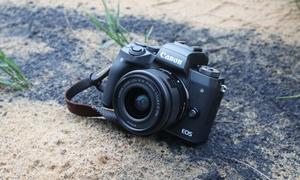 EOS M5 – mirrorless mạnh nhất của Canon, giá 26,9 triệu đồng