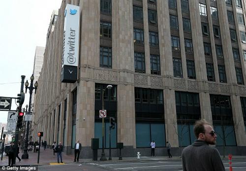 Trụ sở Twitter tại San Francisco. Ảnh: Getty Images.