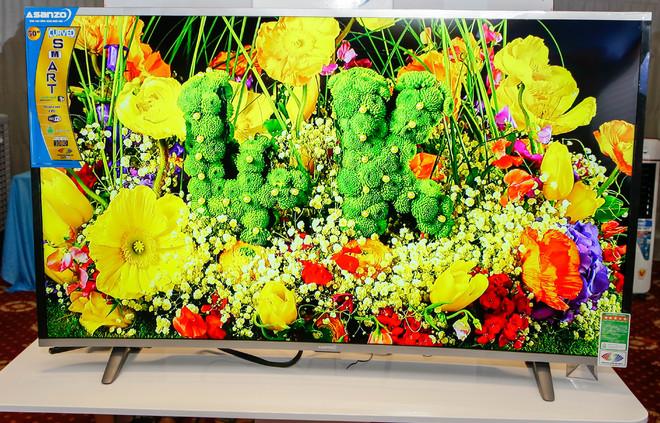 <a href='http://m.vietgiaitri.com/tag/tv-man-hinh-cong/' title='TV màn hình cong'>TV màn hình cong</a> thương hiệu Việt giá từ 6 triệu đồng