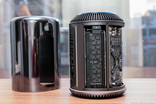 Mac Pro 2013 được cho là sử dụng những phần cứng khủng nhất.