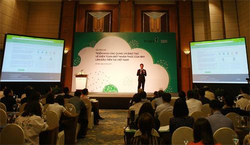 Điện toán biết nhận thức của IBM lần đầu triển khai ở Việt Nam - ảnh 1