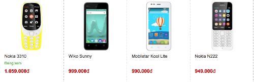 Giá của Nokia 3310 phiên bản mới nhỉnh hơn một số smartphone Android phổ thông cũng như feature phone trước đó của Nokia.