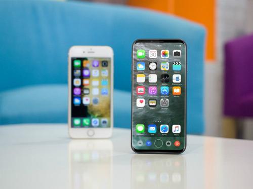 Ý tưởng về iPhone 8 sắp ra mắt.