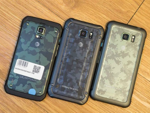 Galaxy S5, S6 và S7 phiên bản siêu bền Active.