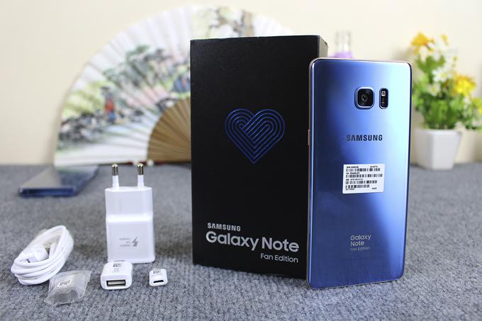 <a href='http://m.vietgiaitri.com/tag/galaxy-note-fe/' title='Galaxy Note FE'>Galaxy Note FE</a> về Việt Nam nhỏ giọt, giá đắt