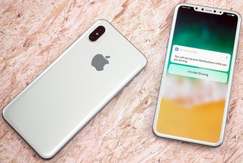 iPhone 8 sẽ có màn hình sát viền, không còn nút Home. Ảnh concept củaMartin Hajek.