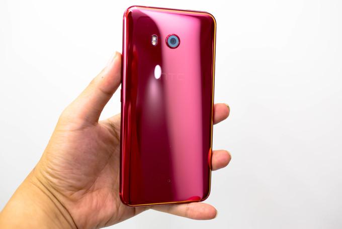 HTC U11 phiên bản Solar Red