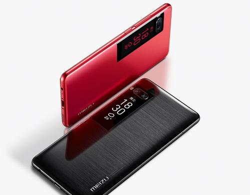 Không chỉ có camera kép, Meizu Pro 7 và Pro 7 Plus còn sở hữu tới hai màn hình cảm ứng SuperAMOLED với một nằm ở lưng.