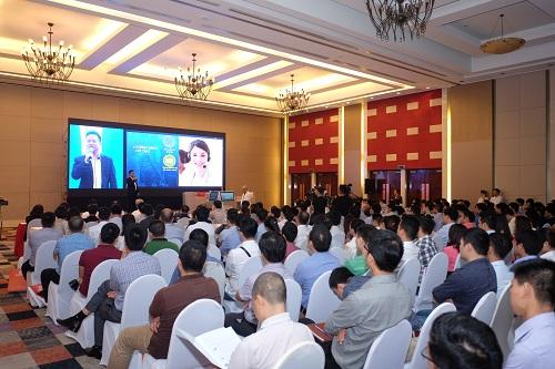 Các bộ giải pháp trình diễn tại tổ hợp trải nghiệm gồm giải pháp hiển thị, giải pháp hội nghị truyền hình, giải pháp tích hợp AV tổng thể