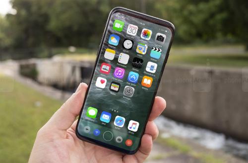 iPhone 8 được cho có thiết kế màn hình tràn viền.