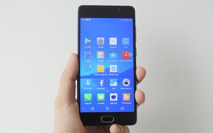 Mở hộp smartphone Asanzo S5