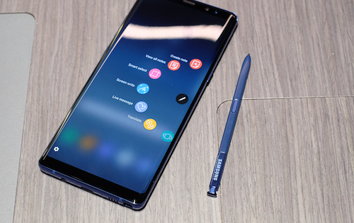 Galaxy Note 8 đã được chuẩn bị kỹ lưỡng về pin