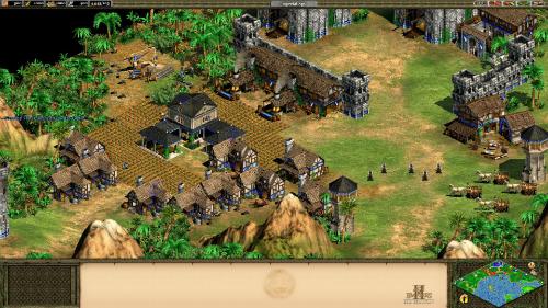 Age of Empires II HD là phiên bản rất nổi tiếng ở các quốc gia phương Tây.