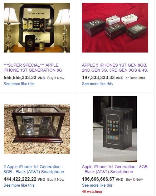 Với giá 'nghìn USD', iPhone 8 vẫn chưa phải là iPhone đắt nhất
