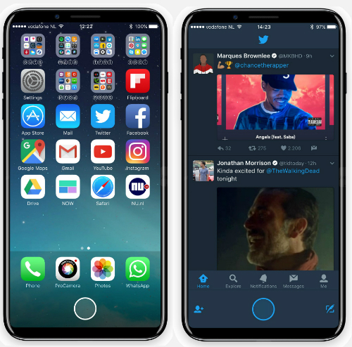 Cảm biến vân tay trên iPhone 8 sẽ được tay bằng nhận diện khuôn mặt 3D.
