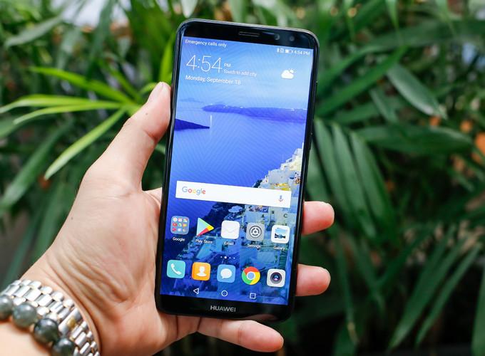 Smartphone màn hình tràn viền của Huawei xuất hiện