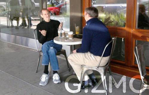 Steve Jobs và Eric Schmidt