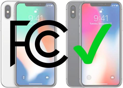 Phone X mới được cấp giấy phép lưu hành từ FCC