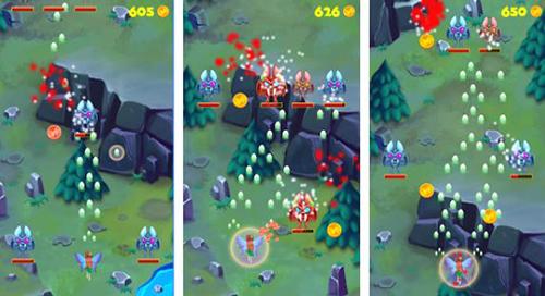 Lối chơi của EverWing khá giống game bắn ruồi.
