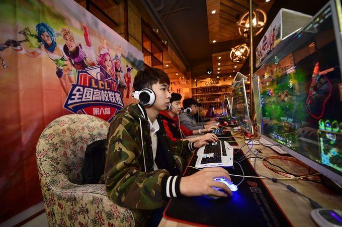 Những thanh niên Trung Quốc chọn game làm lý tưởng sống ảnh 1