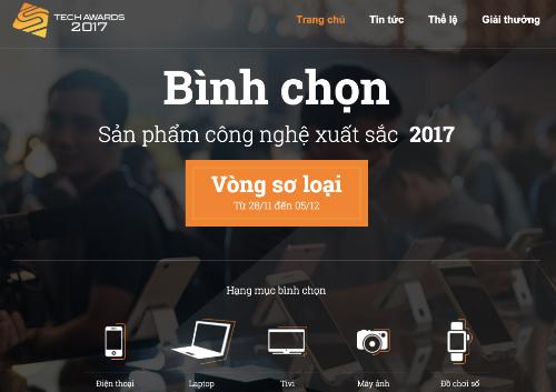 da-bat-dau-binh-chon-tech-awards-2017