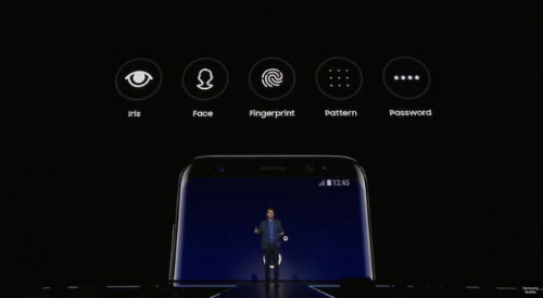 Các các bảo mật hiện có của smartphone Samsung.
