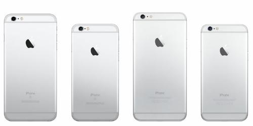 Sự giống nhau về thiết kế giữa iPhone 6, 6S, 7 và 8.