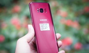 Galaxy S8 Burgundy Red xuất hiện ở Việt Nam