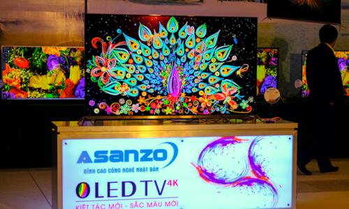 TV OLED đầu tiên của Asanzo, giá từ 42,5 triệu đồng