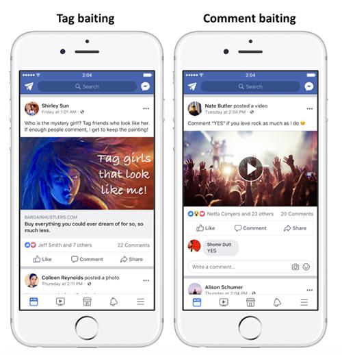 Facebook mạnh tay với các bài viết 'câu like'