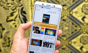 Vivo V7 - smartphone tầm trung có nhiều ưu điểm