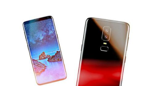 Mẫu smartphone có thiết kế như trong ảnh rò rỉ về Galaxy S9 đã có mặt ở thị trường Trung Quốc.