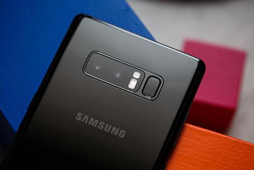 Galaxy Note8 là smartphone có sự trở lại ngoạn mục nhất 2017