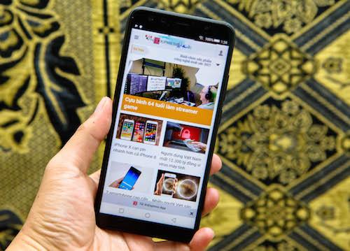 Prime X Max 2017 - smartphone Việt màn hình tràn viền xuất sắc