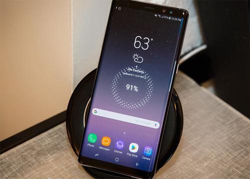 Một số mẫu Galaxy Note8 không thể sạc khi pin về 0%