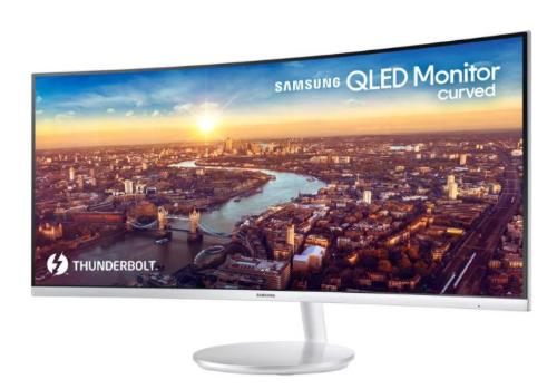 TV cong mới của Samsung có kết nối Thunderbolt 3 - 217843