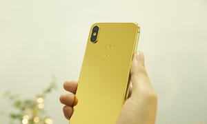 iPhone X mạ vàng 24K xuất hiện ở Việt Nam