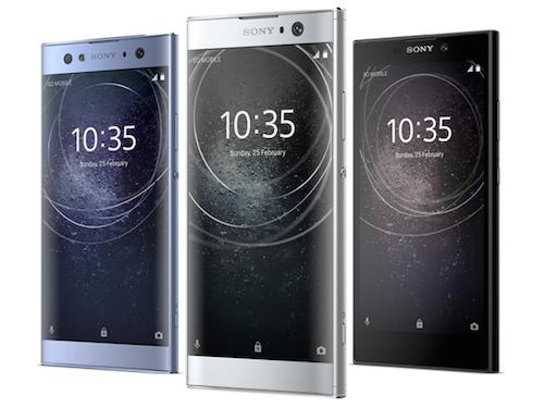 Sony ra mắt bộ 3 smartphone tầm trung mới tại CES 2018